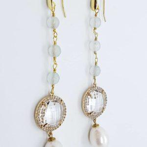 orecchini con perle scaramazze e quarzi orecchino con perle di fiume naturali agata e cristalli briolette Orecchino con perle di fiume naturali, agata e cristalli briolette 0090 56661892 1179326762274097 4850397809658036224 n 300x300