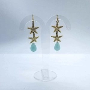 orecchini color tiffany Orecchini color Tiffany e avventurina cod. OT0005 14
