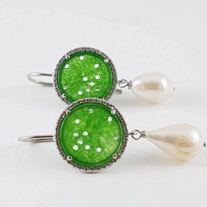 orecchini con agata e perla di fiume Orecchini con agata e perla di fiume cod. OV0018 3 1 300x300
