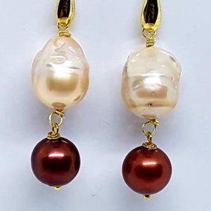 orecchino perla scaramazza e perla brown Orecchini con Perla Scaramazza e con Perla di fiume Brown 66149248 368014933905900 7780302324349534208 n 300x300