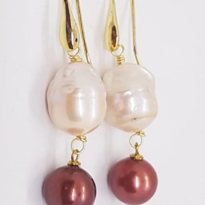 orecchino perla scaramazza e perla brown Orecchini con Perla Scaramazza e con Perla di fiume Brown 78372823 480711299246197 3617908445300129792 n 300x300