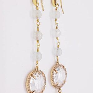 orecchino con perle di fiume naturali agata e cristalli briolette Orecchini con perle di fiume naturali, agata e cristalli briolette 78375529 2412741005521227 2801812097250361344 n 300x300