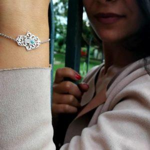 bracciale in argento mano di fatima Bracciale in argento Mano di Fatima 4a 1 300x300
