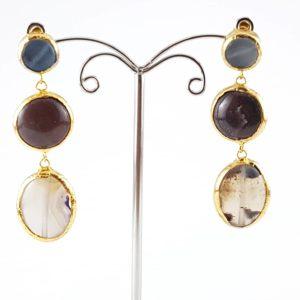 orecchini pendenti pietra classica orecchini pendenti pietra classica Orecchini Pendenti Pietra Classica 5a 300x300