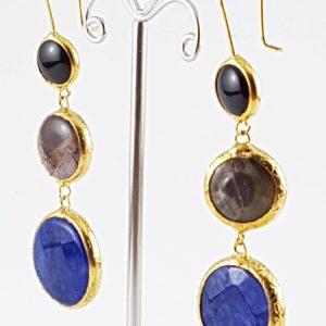 orecchini pietre naturali blu orecchini pietre naturali blu Orecchini Pietre Naturali Blu 3a 300x300