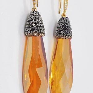 orecchini quarzo arancio Orecchini con quarzo color arancio e marcassite 79151466 2486052431448957 1644895813496733696 n 300x300