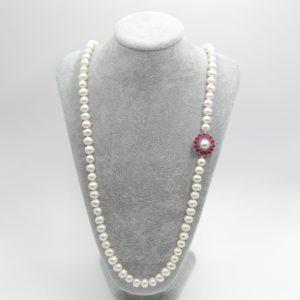 collana lunga perle prenite Collana Lunga con Perle di Fiume Naturali DSC04827 300x300