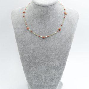 collana girocollo con perle di fiume con corallo Collana Girocollo con Perle di Fiume con Corallo DSC05063 300x300