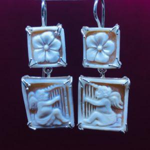 collana girocollo con lapislazzuli e con perle di fiume naturali Orecchini con Cammeo e con Perle di Fiume Naturali IMG E2797 300x300