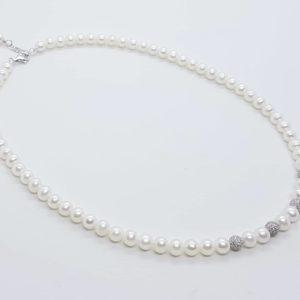 Collana girocollo con perle naturali e perle in argento collana girocollo con perle naturali e perle in argento Collana girocollo con perle naturali e perle in argento 57209225 2253631248190075 1653571501405765632 n 300x300