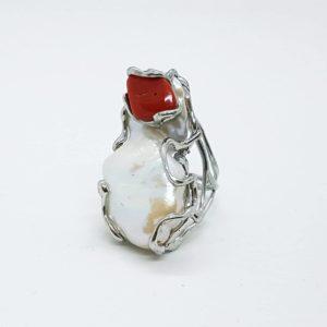 Anello con perle scaramazze e corallo 72653740 671159890041256 691464656341958656 n 300x300