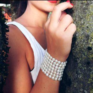 bracciale con perle Bracciale con perle coltivate a nido d'ape 0518ab62 fa8b 4520 bffc 8965322ebadc 300x300