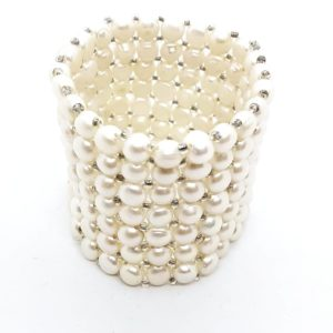 Bracciale con perle coltivate a nido d'ape bracciale con perle Bracciale con perle coltivate a nido d'ape 100 300x300