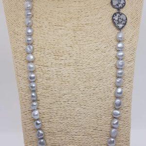 collana con perle Collana con perle naturali grigie 76616532 441882920036050 4320919687425687552 n 300x300