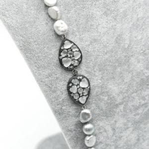 collana con perle Collana con perle naturali grigie DSC05488 300x300