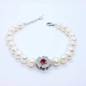 Bracciale con perle coltivate e radice di rubino bracciale con perle di fiume coltivate e radice di rubino Bracciale con perle di fiume coltivate e radice di rubino 61442642 1019294385126883 5772900924494184448 n 300x300