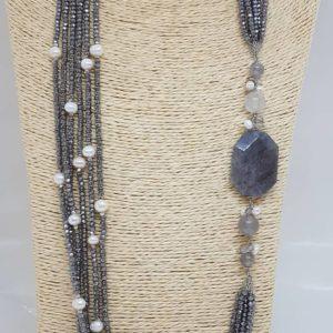 Collana lunga con 6 fili cristalli Swarovski con quarzi e perle naturali coltivate Collana lunga con 6 fili cristalli Swarovski con quarzi e perle naturali coltivate 68737602 624512811410376 2251426220249972736 n 300x300