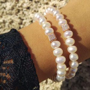 bracciale con perle coltivate e elemento decorativo in argento bagnato in oro rosa Bracciale con perle coltivate e elemento decorativo in argento bagnato in oro rosa 9ce1f23c 29e6 4e10 ab7c 2c44f5c49005 300x300