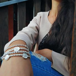 bracciale con monete in argento Bracciale con monete in argento 1 300x300