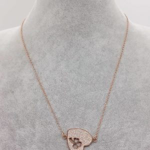 collana in argento bagnato in oro rosa con cuore Collana in argento bagnato in oro rosa con cuore 78073874 2617024555051034 551610814558109696 n 300x300