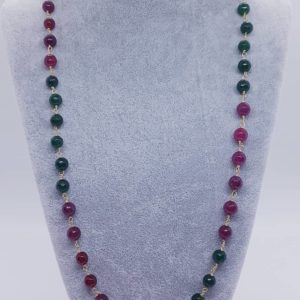 Collana con pietre in radice di smeraldo e radice di rubino Collana con pietre in radice di smeraldo e radice di rubino 84581485 2896942473695420 7481977808684580864 n 300x300