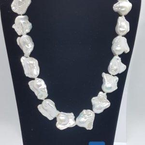 collana lulù in argento con perle scaramazze