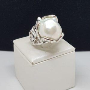 anello perla scaramazza